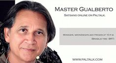 """It is tonight. Rare opportunity to listen to a Master who realized the Self who broke up with the ego illusion and lives in complete Sahaja Samadhi state. For those who are intetested in or just curious about follow the instructions below!  To participate download """"paltalk"""" on the app store of your cell phone or download on your computer (www.paltalk.com). Search for the room: """"satsang marcos gualberto"""". Every Monday Wednesday and Friday. At 10 p.m. Local time: Brazil.  É hoje. Encontro on…"""