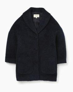 Virgin Mohair Coat by YMC. via The Cools