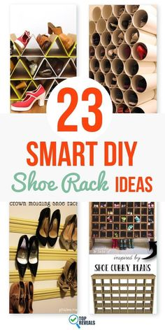 As soon as my kids get home from school, they drop their backpacks and kick off their shoes. Two hours later when dad gets home, he trips over said shoes. That is until I built my handy shoe rack to have a spot for literally everything. Shoes go on the shoe rack! Here are a bunch of my favorite DIY shoe rack ideas I found in my search for an organized home.