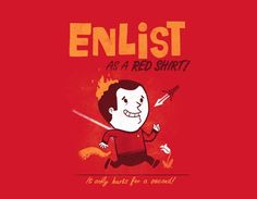 Enlist as a Red Shirt (Star Trek)