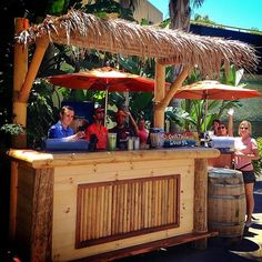 Relax poolside with a drink at our Tiki Bar! #marriottmarquissd #sandiego #summer