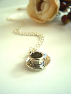 Cup of Tea Necklace  :)