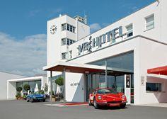 The V8 Hotel in Germany