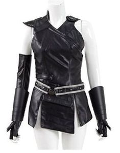 Zazie beetz domino costume deadpool 2 movie costumes props thor costume cosplay diy incl hammer cape and boots publicscrutiny Images