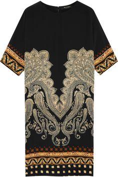 Etro | Printed stretch-silk dress | NET-A-PORTER.COM