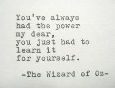 Power of oz.