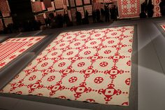 Infinite Variety, Red and White Quilt Show