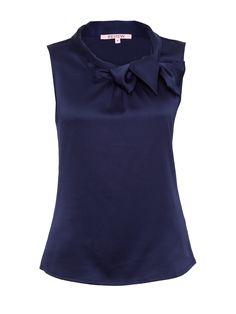 Royce Top in Navy   Workwear   Review Australia
