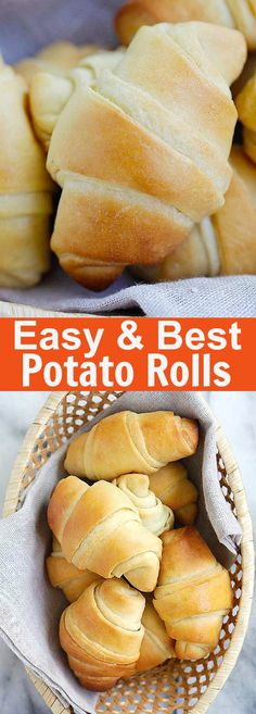 Easy Potato Rolls – the best, softest, pillowy homemade potato rolls recipe ever! From Oh Sweet Basil's cookbook. Fail proof and SO GOOD | rasamalaysia.com @ohsweetbasil