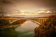 """Rainbow Bridge"" - Won People's Choice in Fall Beauty Photo Challenge October, 2016"