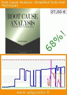 Root Cause Analysis: Simplified Tools And Techniques (Broché). Réduction de 68%! Prix actuel 27,50 €, l'ancien prix était de 86,16 €. Par Bjrn Andersen. http://www.adquisitio.fr/asq-quality-press/root-cause-analysis