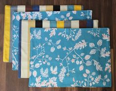 Homemade placemats are incredible easy to make. They are a perfect beginning sewing project. I've made lots of placemats over the years, and when I got to thinking about it I realized that mo…