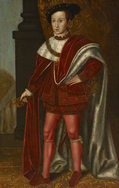 Edward VI, King of England, Son of Henry VIII and Jane Seymour