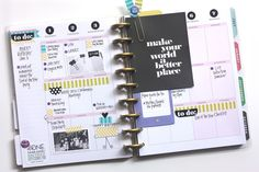 the first M-T-W of June in The Happy Planner of mambi Design Team member April Orr   me & my Big ideas