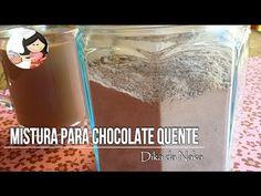Como fazer mistura para Chocolate quente - Dika da Naka