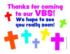 Kingdom Chronicles VBS Invitation Postcards for debbs house