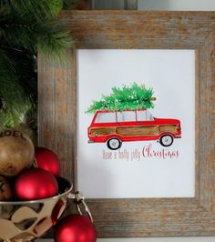 Tree Time Free Christmas Printable | AllFreeChristmasCrafts.com