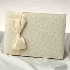 WeddingDepot.com ~ Heirloom Guest Book ~