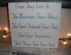 Wedding Signs Seating Plan