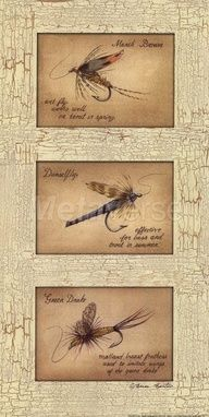 Fishing decor lake house pinterest fishing and decor for Fly fishing decor