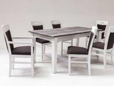 Świerkowy stół rozkładany Letizia 1