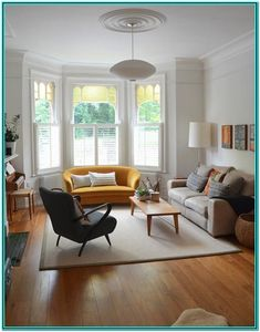 37 cozy small living room decor ideas for your apartment. 37 cozy small living room decor ideas for your apartment. 37 cozy small living room decor ideas for your apartment Home Living Room, Living Room Designs, Living Room Decor, Living Spaces, Apartment Living, Living Room With Bay Window, 1930s Living Room, Living Area, 1930s House Interior Living Rooms