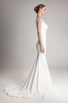 Amazing dress and fabulous shoulder treatment. HAMDA AL FAHIM