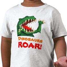 Dinosaurs Roar! Infant T-Shirt $20.50