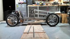 Rolling CycleKart chassis