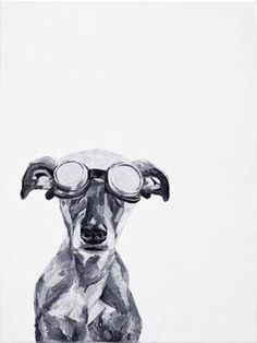 Ildiko Olah - Dogs with Glasses
