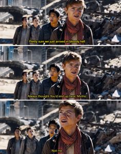 Newt, you can't just say things like that! (also, that scarf!)
