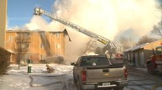PHOTOS: Glen Oaks apartment fire in Sioux City
