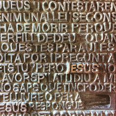 Sagrada Familia carving. #Christianity #church #basilica #Barcelona #antonigaudi #architecture #architectureporn #archilovers #building #sagradafamilia #design #travelphotography #Catalunya #perspective #city #smugmug #nofilter #iPhone #photooftheday #his