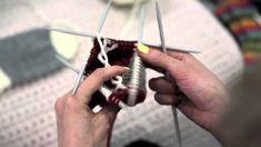 6. Villasukan teräosan neulominen