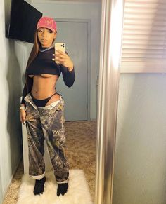 Baddie Outfits Casual, Cute Swag Outfits, Dope Outfits, Girl Outfits, Fashion Outfits, Fashion Ideas, Teenager Outfits, Fashion Clothes, Women's Fashion