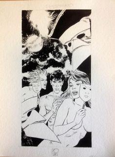 "Stano, Angelo - original illustration Dylan Dog ""Calendario Max"" - W.B."