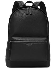 Michael Kors Bryant Pebble Leather Backpack