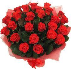 Ramos de Flores Rojas - Más detalles en: http://fotosderamosdeflores.com/ramos-de-flores-rojas/