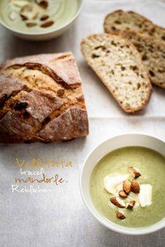Vellutata con broccoletti, mandorle e Reblochon. by Vaniglia - Storie di cucina