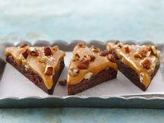 Double chocolate chunk, fudgy brownies meet ooey, gooey caramel and a sprinkle of sea salt.