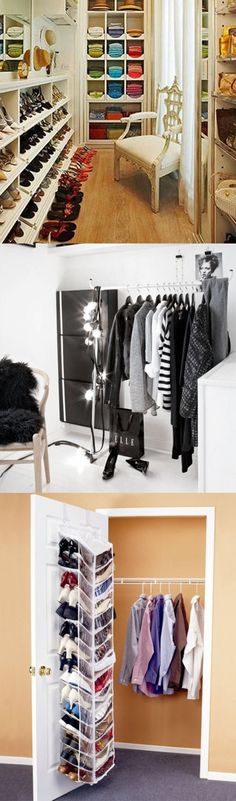 Here are some tricks for saving time and rearranging your coveted items in the wardrobe without making you look like you cannot move on and follow the trends. #Wardrobe #Closet #Arrangement #Fashion