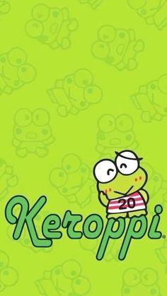 Keroppi Wallpaper, Kawaii Wallpaper, Colorful Wallpaper, Wallpaper Keren, Hello Kitty Characters, Sanrio Characters, Hello Kitty My Melody, Sanrio Hello Kitty, Little Twin Stars