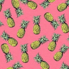 fresh pineapple! pattern!