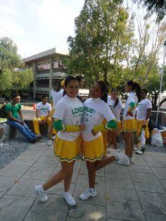 #Diana y vanesa##Cheerleader Loros#Nacional ONP 2011#Mexico,DF