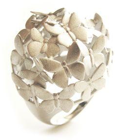 PIN ➕ INSTA: @sophiekateloves ✔️ Les Rêveries dEve ring - Butterflies - sterling silver