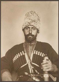 Augustus F. Sherman. Cossack. Ellis Island portrait. New York Public Library.
