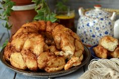 Bardzo dobra babka drożdżowa - monkey bread, przepyszna, aromatyczna, lekka, puszysta, miękka, maślana idealna na każdą okazję.