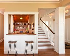 like the idea but... I would make it a candy bar for the home theatre, down in the basement, if I had one!
