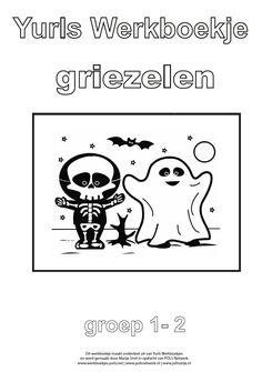 Yurls werkboekje Griezelen Halloween Decorations, Monsters, Education, Comics, Fictional Characters, France, Kids, Carnival, Young Children