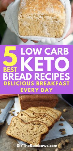 One of the most common misconceptions about being on a ketogenic diet is that you have to avoid bread. While it's true that you should ignore grain-based bread, there's a trove of ketogenic bread recipes out there.